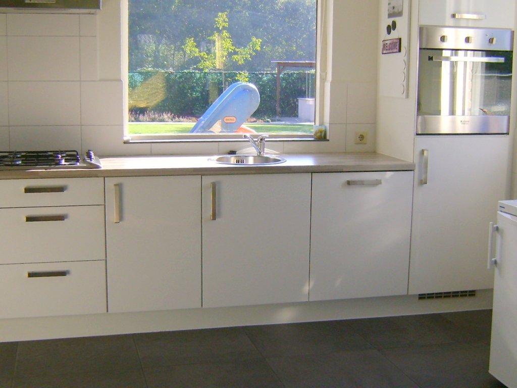 Keuken bij woonkamer