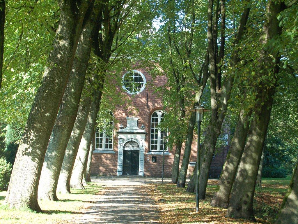 De Kerksingel waaraan het huisje ligt