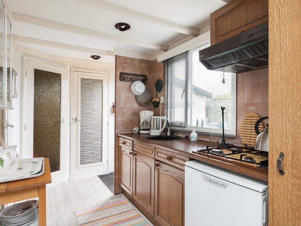 keuken chalet